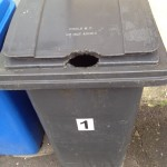 RAT DAMAGED WHEELIE BIN-(3)